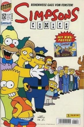 Simpsons Comics #152 - Reihenweise Gags vom Feinsten!