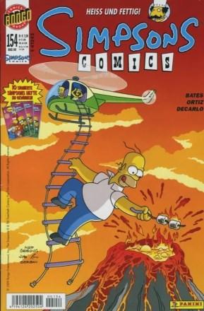 Simpsons Comics #154 - HEISS UND FETTIG
