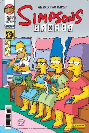 Simpsons Comics #160