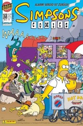 Simpsons Comics #168