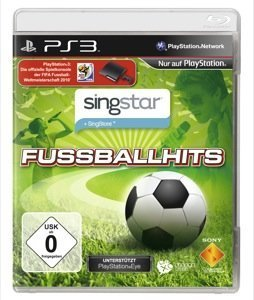 SingStar Fußballhits - Cover PS3