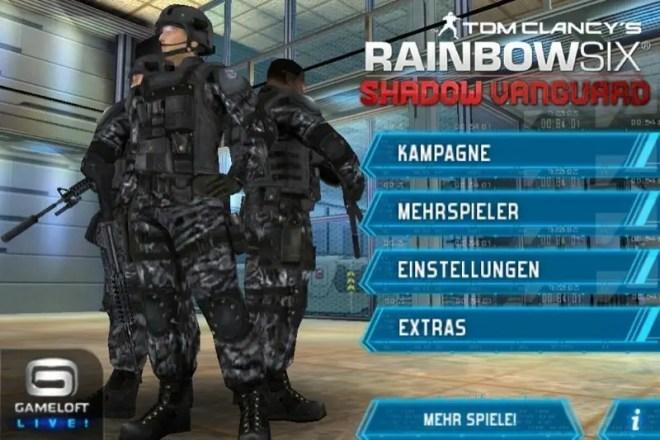 Tom Clancy's Rainbow 6: Shadow Vanguard - Screenshot