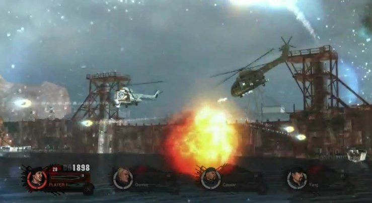 The Expendables 2: Das Videospiel - Screenshot