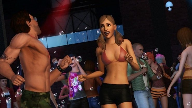 Die Sims 3: Late Night - Screenshot