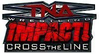 TNA iMPACT: Cross the Line - Logo