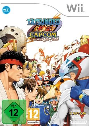 Tatsunoko vs Capcom Ultimate All-Stars - Packshot Wii