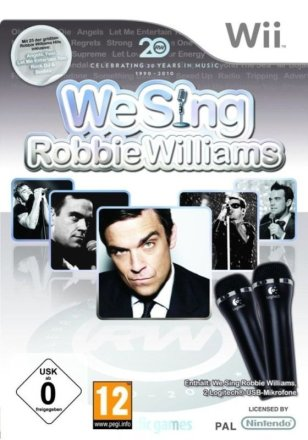 We Sing Robbie Williams - Cover Wii