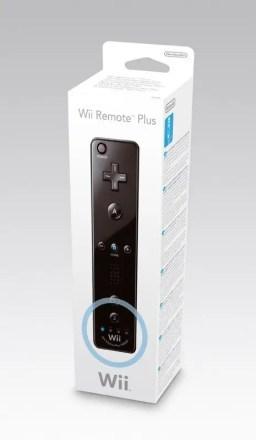 Wii Remote Plus - schwarz