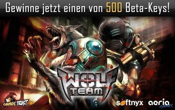 Wolf Team - Betakeys gewinnen