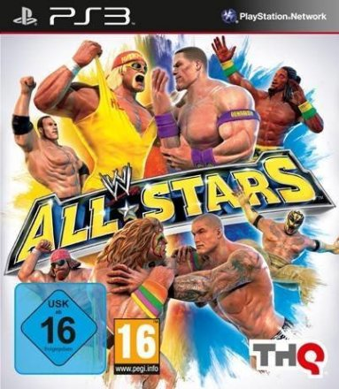 WWE All Stars - Cover PS3