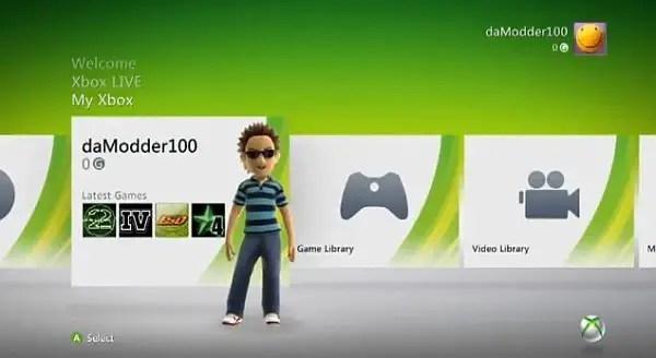 Xbox 360 - Kinect Dashboard