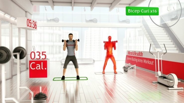 Your Shape: Fitness Evolved - Screenshot