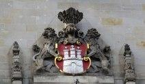 Detail am Rathaus.