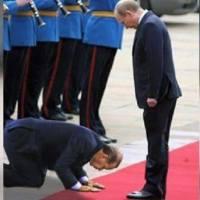 C'EST SUR LE NET : le Président Tayyip Erdogan se prosternant devant Poutine