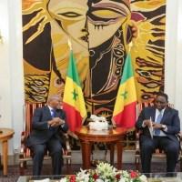 Le nouvel ambassadeur du Congo au Sénégal Jean-Luc Aka-Evy a pris ses fonctions