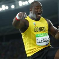 Athlétisme : Franck Elemba, le spécialiste congolais du lancer du poins, bientôt français