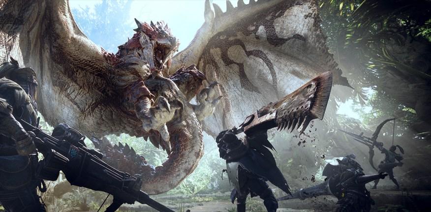 monster hunter world release date 2018