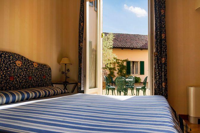 stanza da letto albergo