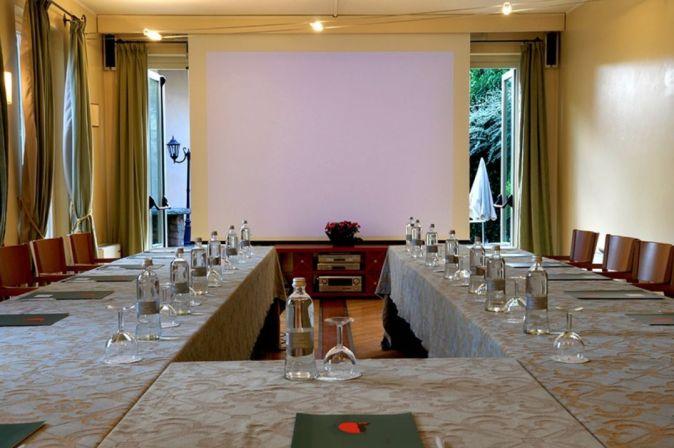Sala riunioni per evento aziendale