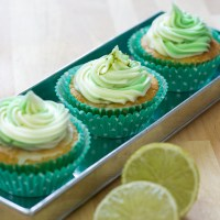 Cucumber and Lime Cupcakes