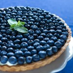 Blueberry Mint Tart