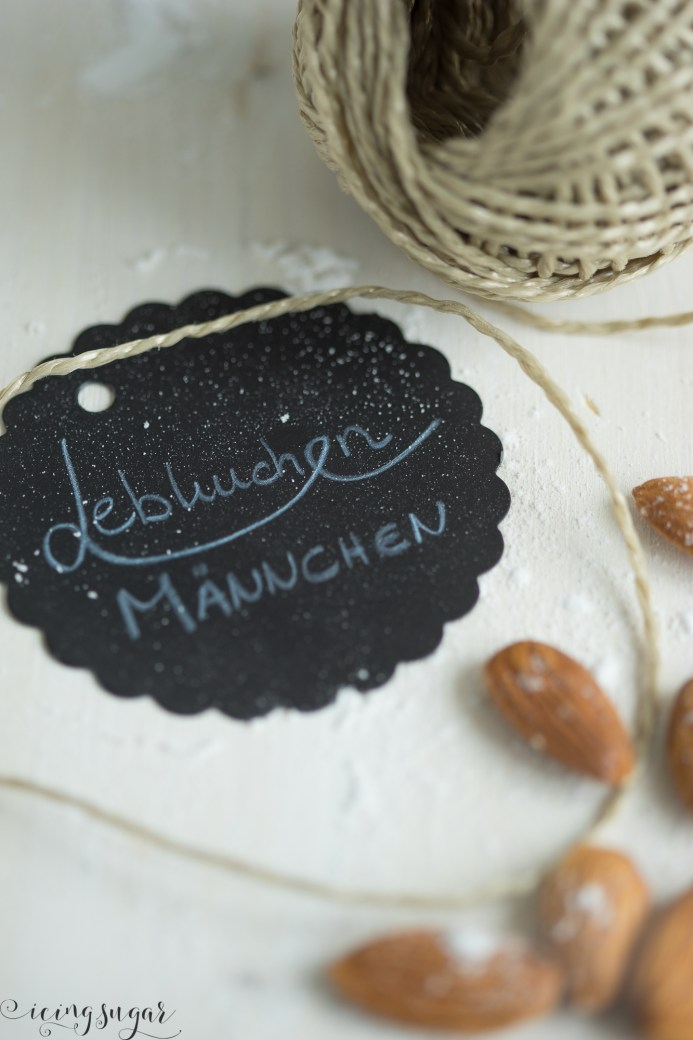 Lebkuchen Männchen (Gingerbread Man) by Icing-Sugar.com