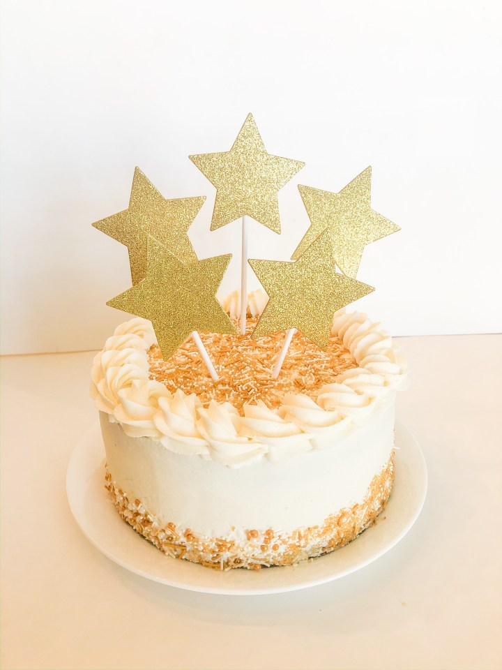 Champagne Cake with Champagne Frosting