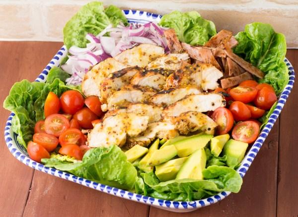 Honey Mustard Chicken With Avocado & BLT