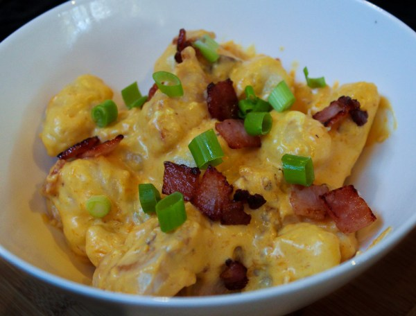 Creamy Butternut Pumpkin, Chicken & Bacon Gnocchi