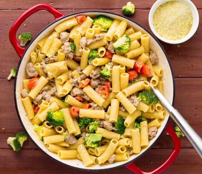 Pork Sausage & Broccoli Rigatoni