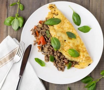 Thai Beef Omelette