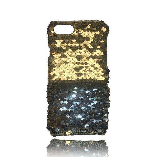 Sequin Flip Case - Gold - iPhone 8 Plus / 7 Plus / 6S Plus / 6 Plus 2