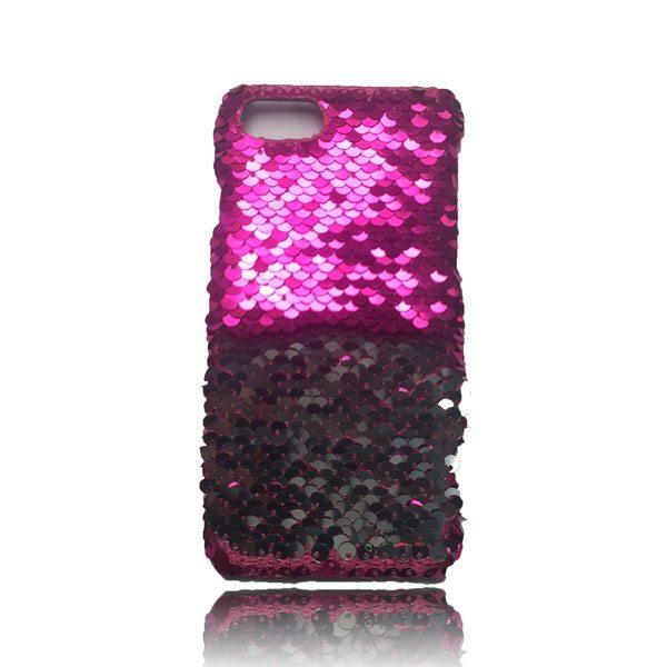 Sequin Flip Case - Pink - iPhone 8 / iPhone 7 / iPhone 6S / iPhone 6 2