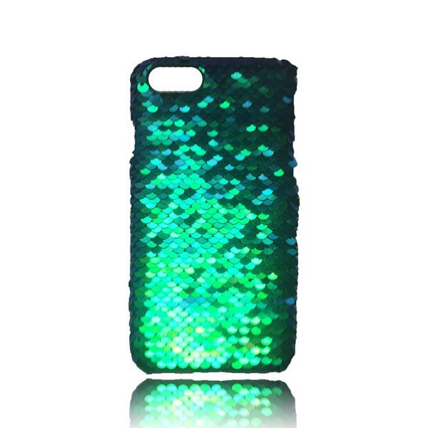 Sequin Flip Case - Teal - iPhone 8 / iPhone 7 / iPhone 6S / iPhone 6 1