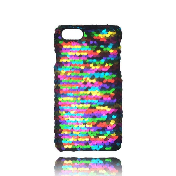 Sequin Flip Case - Rainbow - iPhone 8 Plus / 7 Plus / 6S Plus / 6 Plus 1