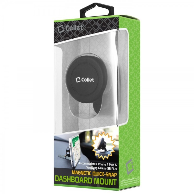 Cellet Extra Strength Magnetic Car Dashboard Mount for Smartphones and Tablets 1