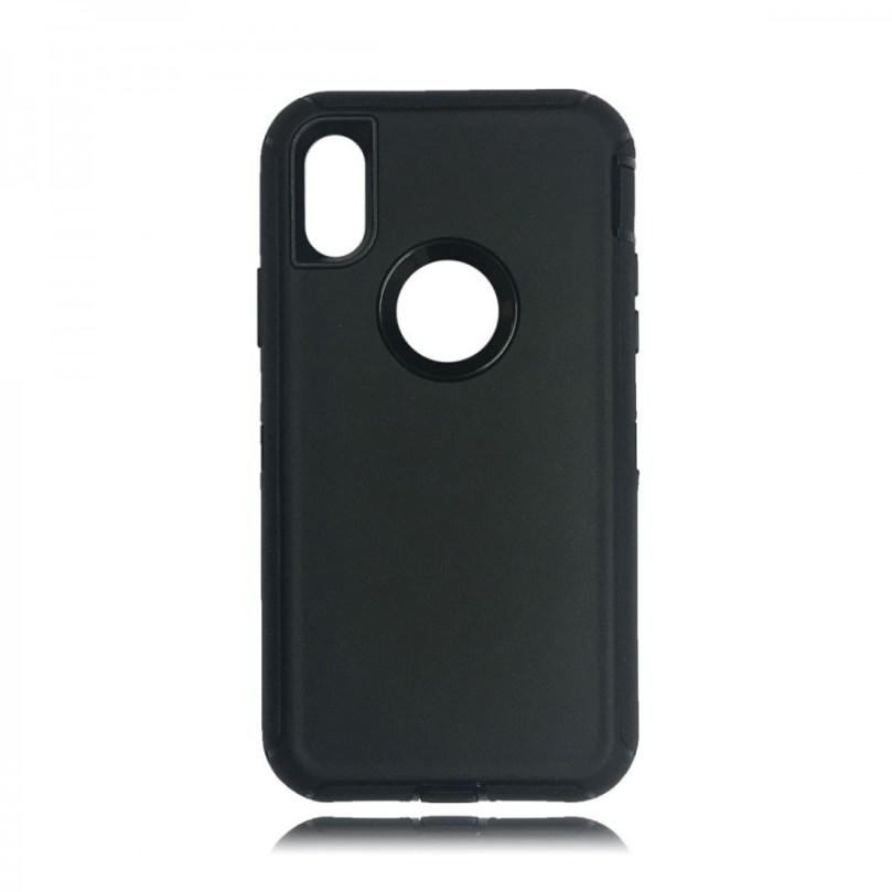 Heavy Duty Case w/ Clip BLACK/BLACK - iPhone X 1