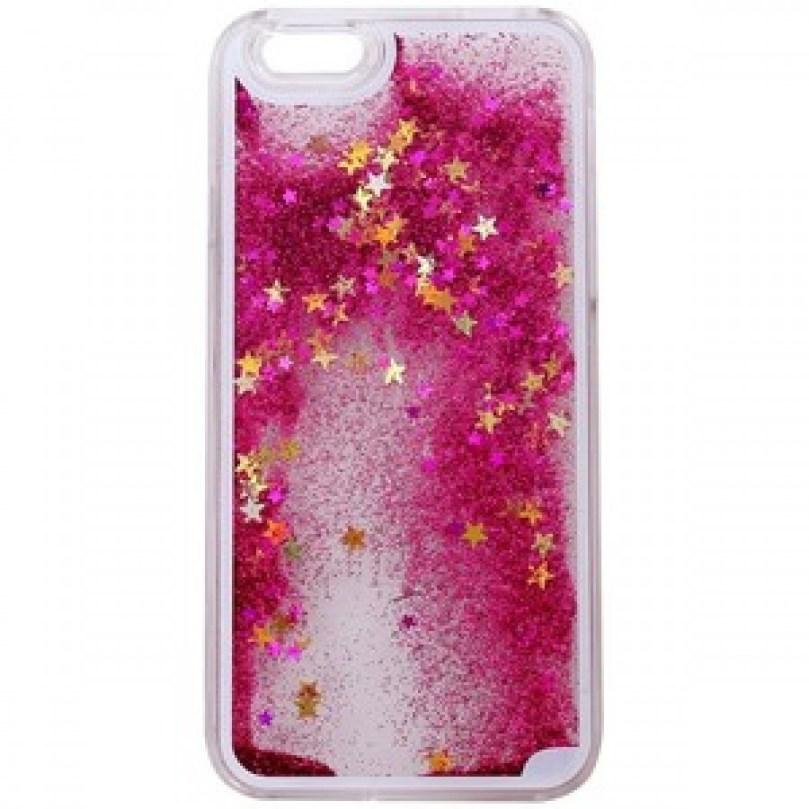 Quicksand Style Case - PINK / GOLD - iPhone 6S Plus / 6 Plus 1