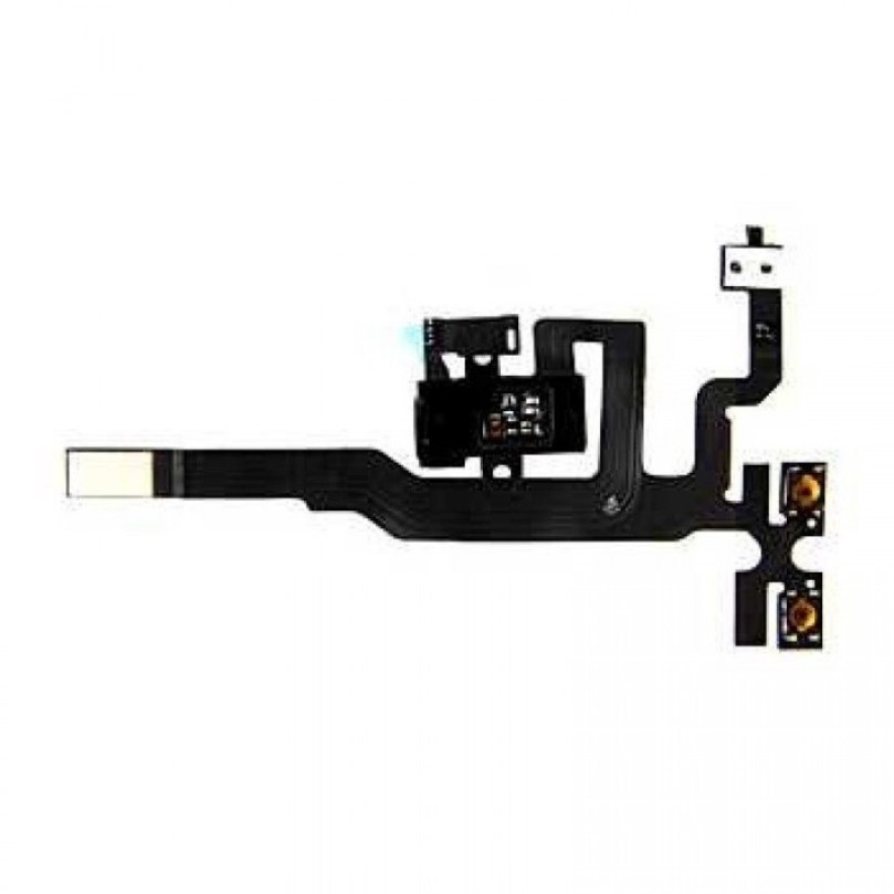 iPhone 4S Volume / Headphone Jack Replacement part - BLACK 1