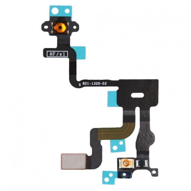 Proximity light sensor power button flex cable ribbon parts for iPhone 4S 1