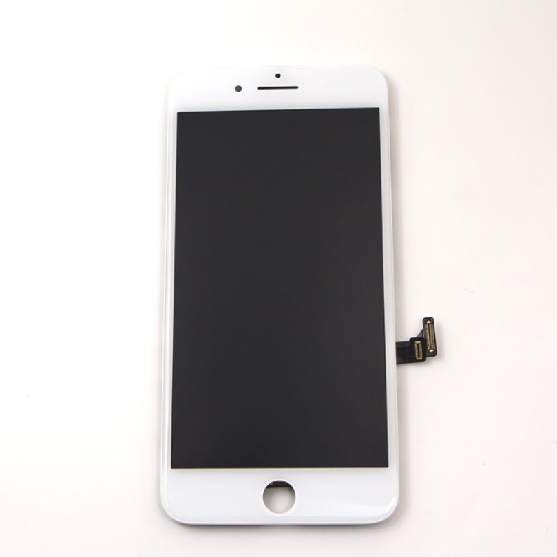 (Premium Plus Quality) LCD Display Touch Digitizer Screen White for iPhone 7 Plus 2