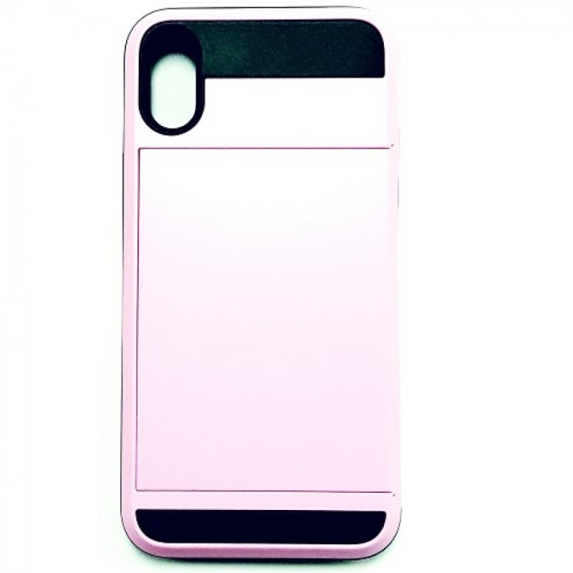 iPhone X/Xs Card Holding Case PINK 1