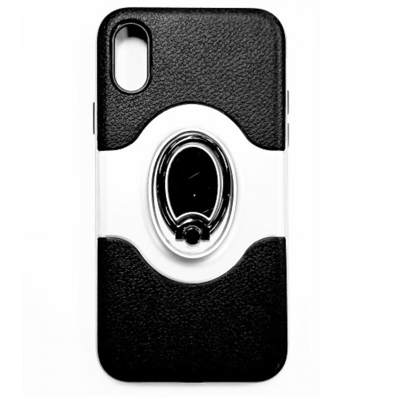 iPhone X/Xs Vision Case w/ Ring SILVER 1
