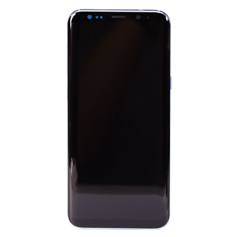 LCD Screen Touch Screen Digitizer   Frame Blue For Samsung Galaxy S8 Plus 2