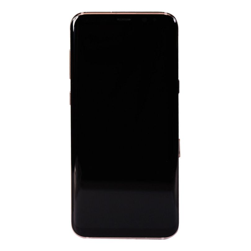 LCD Screen Touch Screen Digitizer Frame Gold For Samsung Galaxy S8 Plus 2