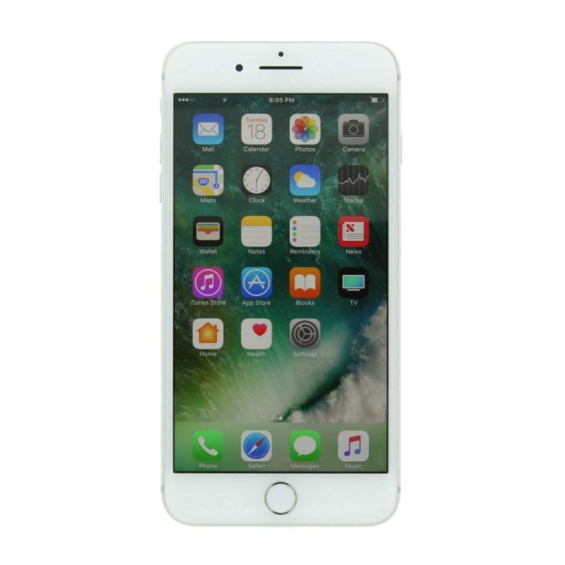 iPhone 7 Plus - 256GB Fully Unlocked - Silver (Renewed) 1