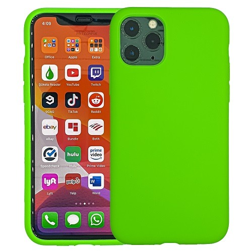 IPHONE-11-PRO-MAX-CASE-SILICONE-LIGHT-GREEN-0