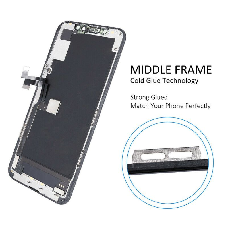 OLED Display LCD Touch Screen Digitizer Frame For iPhone 11 Pro 4