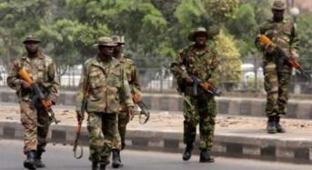 Army Claims It Killed 37 In Attack On Boko Haram Camp