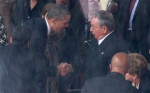 mandela's memorial-obama-castr